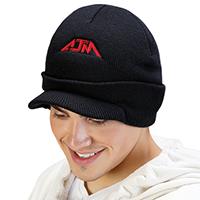 Acrylic~Jeep Cap, Rib knit