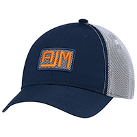 Polyester Rip Stop / Polyester Rip Stop Bonded Mesh~6 Panel Constructed Full-Fit