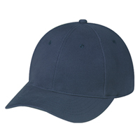 Brushed Cotton Drill & Spandex~6 Panel Constructed Contour (Adjust-A-Fit, Youth)