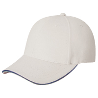 Brushed Cotton Drill & Spandex~6 Panel Constructed Contour (Adjust-A-Fit)