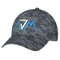 Cotton Drill, 6 Panel Constructed Full-Fit (Urban Camo)