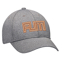 Polyester Heather & Spandex~6 Panel Constructed Full-Fit