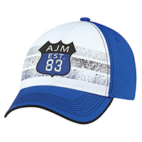 Polycotton~6 Panel Constructed Full-Fit (Distressed Stripes)
