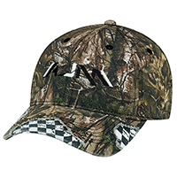 Realtree XTRA®~6 Panel Constructed Full-Fit (Distressed, Racing)n