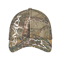 """Realtree - APS® :: XTRA® :: XTRA® Colors """"Snow""""~6 Panel Constructed Full-Fit (Canada)"""