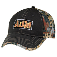 Deluxe Chino Twill / Polycotton~Oilfield® Camouflage~6 Panel Constructed Contour (Trim)