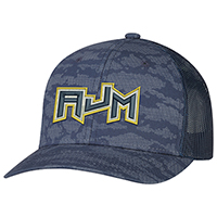 Cotton Drill / Nylon Mesh / Nylon Mesh~6 Panel Constructed Pro-Round (Urban Camo, Mesh Back)