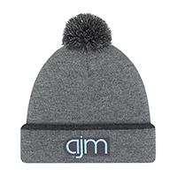 Acrylic~Cuff Toque (Pom Pom 8cm)~Rib knit