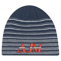 Acrylic~Board Toque, Rib knit