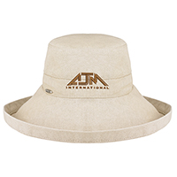Rough Cotton~Deluxe Wide Brim style (Ladies - One size fits all)