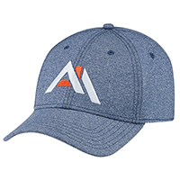 Polyester Heather & Spandex~6 Panel Constructed Contour (A-Class)
