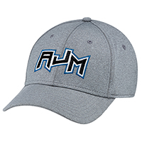 Polyester Heather & Spandex~6 Panel Constructed Contour (A-Class, A-Flex)