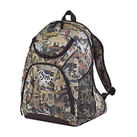 OILFIELD® CAMOUFLAGE BACKPACK~PVC Coated 600D Polyester Canvas / 420D Polyester Canvas