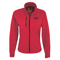 Women's Performance Seasonal Softshell Jackets~94% Polyester / 6% Spandex, 3-Layer Bonded Softshell