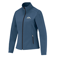 Women's Performance Everyday Softshell Jackets :: 94% Polyester / 6% Spandex, 3-Layer Bonded Softshell
