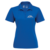 Women's Performance Polos~100% Polyester Pique Knit. 155g/m2 - 4.5oz/yd2