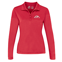 Women's Performance Long Sleeve Polos :: 100% Polyester Pique Knit. 155g/m2 - 4.5oz/yd2
