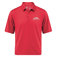 Men's Performance Polos :: 100% Polyester Pique Knit. 155g/m2 - 4.5oz/yd2