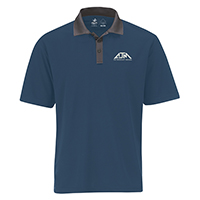 Men's Performance Two-Tone Polos :: 100% Polyester Pique Knit. 155g/m2 (4.5 oz/yd2)
